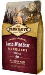 CARNILOVE 6kg KOT STERILISED LAMB WILD