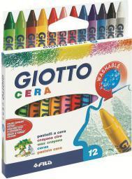 Giotto Kredki woskowe Cera 12 kolorĂłw