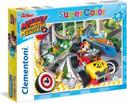 Clementoni 60 ELEMENTÓW Mickey And The Roadster Racers (589717)