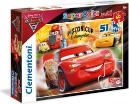 Clementoni Puzzle 60 elementów Maxi Cars 3 (589974)