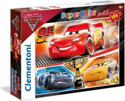 Clementoni 104 elementy Cars 3 (589973)