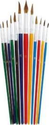 Grand Zestaw okrągłych pędzli artystycznych 12 sztuk - WIKR-084237