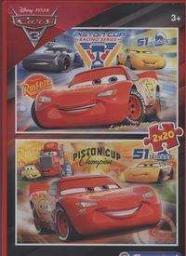 Clementoni Puzzle 2x20 elementów Cars 3 (07027)