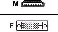Adapter AV Diverse HDMI/DVI