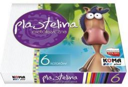 KOMA-PLAST Plastelina 6 kolorów
