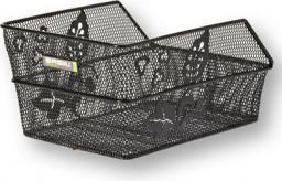 BASIL Kosz na tylny bagażnik CENTO FLOWER S Mounting set for CENTO basket, stalowy czarny (BAS-11178)