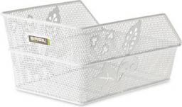 BASIL Kosz na tylny bagażnik CENTO FLOWER S Mounting set for CENTO basket, stalowy biały (BAS-11185)