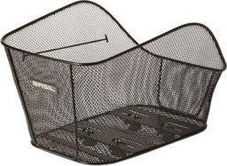 BASIL Kosz na tylny bagażnik ICON L WSL-system, stalowy czarny (BAS-11209)