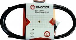 Clarks Pancerz hamulca 2P z teflonem 5mm x 2000mm + 4 końcówki Y2029 czarny