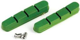 Clarks Wkładki hamulcowe CLARK'S CP201 SZOSA (Shimano, Campagnolo, Avid, Tektro, Do obręczy ceramicznych) 52mm zielone