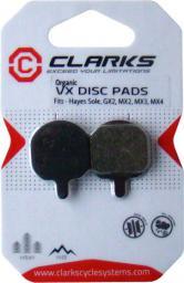 Clarks Okładziny hamulcowe HAYES (Sole, GX2, MX2, MX3, MX4) organiczne