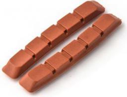 Clarks Wkładki hamulcowe CLARK'S CP500 MTB (V-brake, Warunki Mokre) 70mm czerwone
