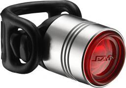 Lezyne Lampka tylna LED FEMTO DRIVE 7 lumenów, srebrna (LZN-1-LED-1R-V106)