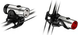 Lezyne Zestaw lampki HECTO DRIVE przód, tył, usb srebrne (LZN-1-LED-9P-V106)