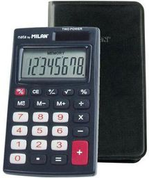 Kalkulator Milan Kalkulator 8-pozycyjny czarny - WIKR-929125