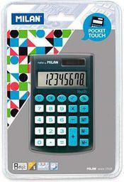 Kalkulator Milan Kalkulator kieszonkowy Pocket Touch 150908KBL czarno - niebieski  - WIKR-952600