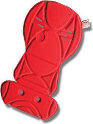 OKBABY Wyściółka 10+ Czerwona (OKB-6301)