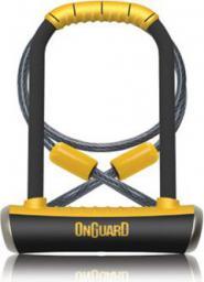 ONGUARD Zapięcie rowerowe PitBull DT 8005 U-LOCK 14mm 115mm 230mm 5 x Klucze z kodem + linka 10mm 120cm (ONG-8005)