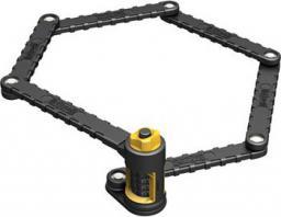 ONGUARD Zapięcie rowerowe Link Plate Lock K9 COMBO SKŁADANE 8115 88,5cm szyfr (ONG-8115)