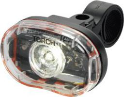 TORCH Lampka przednia WHITE BRIGHT 0.5W czarna (TOR-54011)