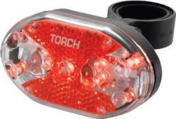 TORCH Lampka tylna TAIL BRIGHT 9X czarna (TOR-54016)