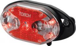 TORCH Lampka tylna TAIL BRIGHT 5X CARRIER FIT czarna (TOR-54020)