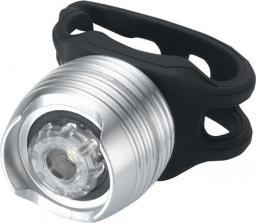 TORCH Lampka przednia WHITE BRIGHT TACTICAL srebrna (TOR-54025)
