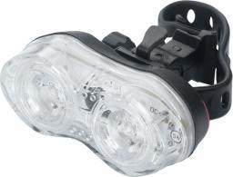 TORCH Lampka przednia WHITE BRIGHT DUO czarna (TOR-54027)