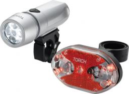 TORCH Zestaw lampki CYCLE LIGHT SET HIGH BEAMER WHITE 5X + TAIL BRIGHT 5X (TOR-54032)