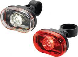TORCH Zestaw lampki CYCLE LIGHT SET WHITE BRIGHT 0.5W + TAIL BRIGHT 0.5W (TOR-54033)
