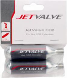 WELDTITE Nabój Gazowy Jetvalve CO2 16g  2 sztuki (WLD-07007)