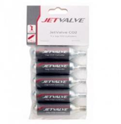 WELDTITE Nabój gazowy Jetvalve CO2 16g 5sztuk  (WLD-07009)