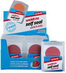 WELDTITE Łatki do dętek zestaw RED DEVILS SELF SEAL PATCH KIT 6 x łatki samoprzylepne pudełko 12 szt. (WLD-1031)
