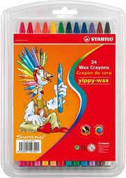 Stabilo Kredki Ĺ›wiecowe 24 kolory
