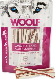 WOOLF  WOOLF 100g LONG DUCK COD SANDWICH