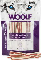 WOOLF  100g SOFT LAMB AND COD SANDWICH LONG