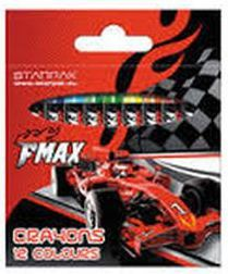Starpak Kredki woskowe 12 kolorów FMAX Starpak 297626 - WIKR-1015676