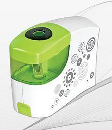 Tetis Temperówka na baterie zielona - WIKR-920627