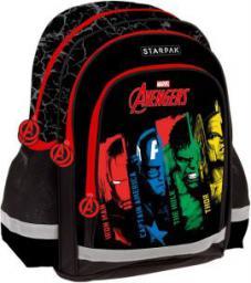 Starpak Plecak szkolny Avengers czarny (233135)