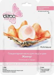 """Dizao Natural Maseczka Klasyczna 2-etapowa """"Perły"""" do twarzy 36g"""