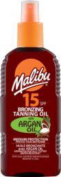 Malibu Bronzing Tanning Oil SPF15 Argan Oil 200ml