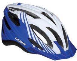 LAZER Kask mtb  VANDAL M/L white blue 54-61 cm