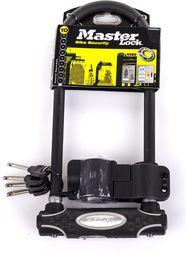 MASTER LOCK Zapięcie rowerowe 8195LW czarne (MRL-8195EURDPROLW)