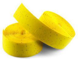 SELLE ITALIA Owijka na kierownicę ITALIA CORSA gr.2.5mm żelowa żółta (SIT-0000000000E05)