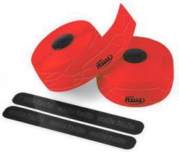 SELLE ITALIA Owijka na kierownicę ITALIA GRAN FONDO gr.2.5mm żelowa czerwona (SIT-0000000000E13)