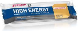Sponser Baton energetyczny HIGH ENERGY BAR truskawkowy pudełko (30szt x 45g) (SPN-90-097)