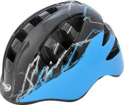 Axer Kask Rowerowy Marcel Slant A1502 czarno-niebieski r. M