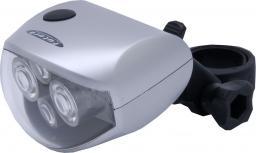 Futura Lampka przednia 4FOUR + baterie srebrna (FUT-OS-P-FOUR)
