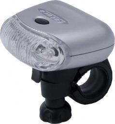 Futura Lampka przednia BURN F + baterie srebrna (FUT-OS-P-BURN)