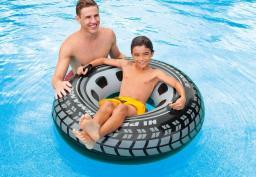 Intex Koło do pływania opona na basen 91 cm